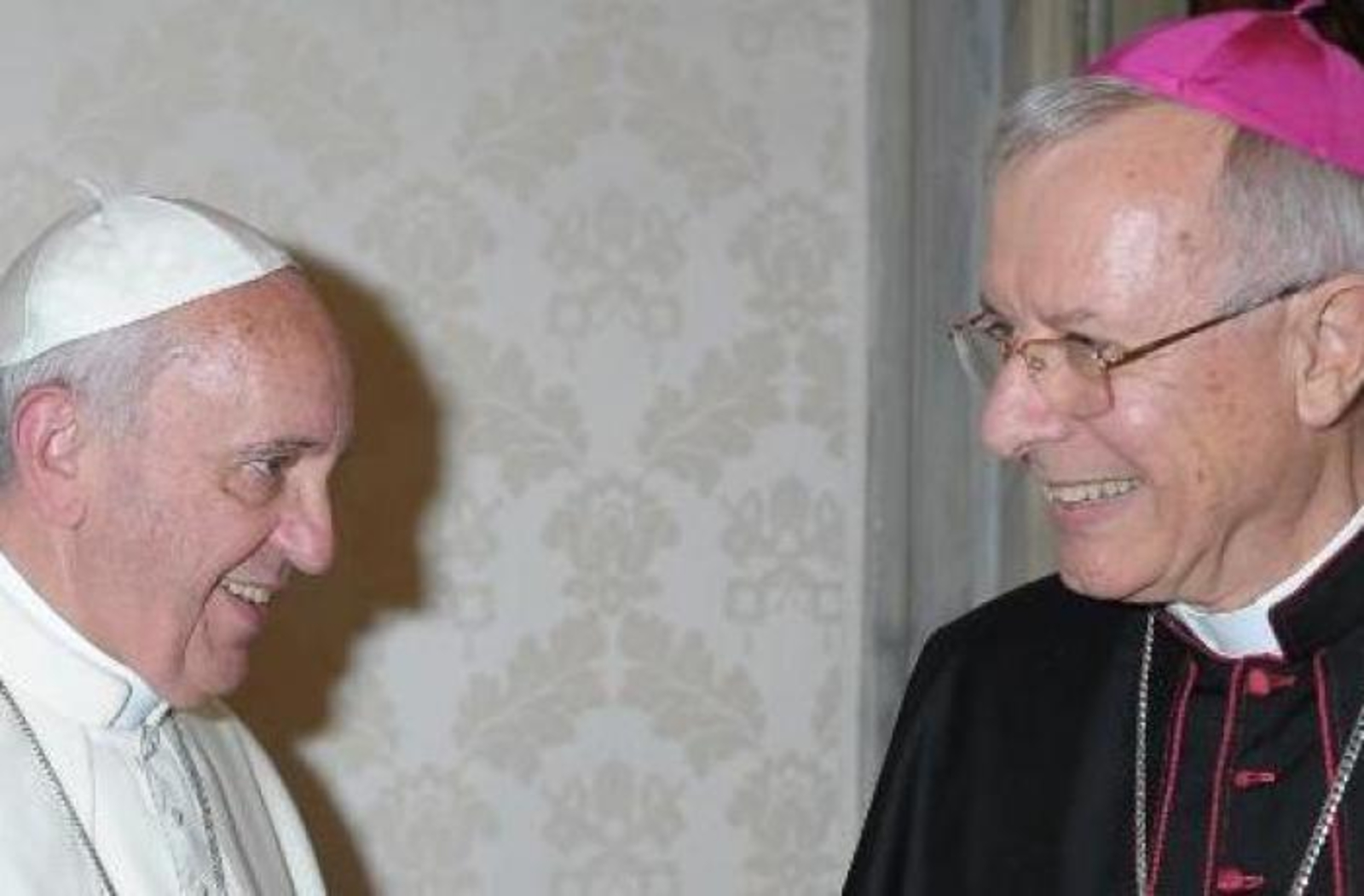 20181211-Paus-Franscicus-en-vicaris-van-de-Verenigde-Arabische-Emiraten-mgr-Hinder