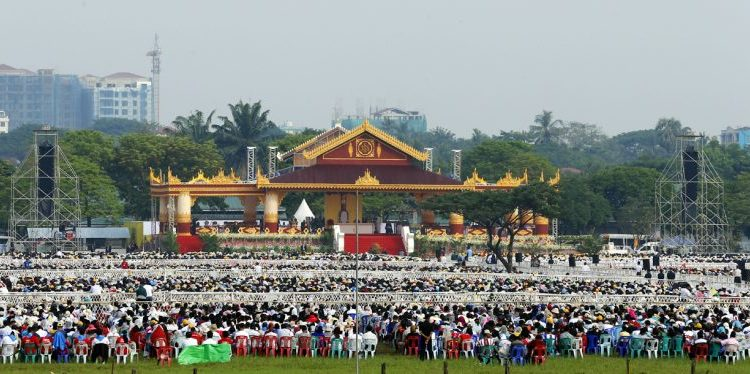 Pope Francis visit to Myanmar November 2017