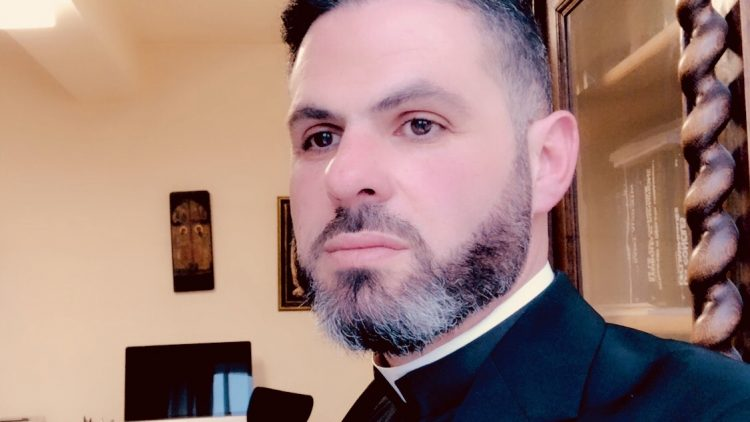 Father Charbel Eid Rizkallah of the mission of the Lebanese Maronite Order in Al-Hassakeh/Syria, 2020.