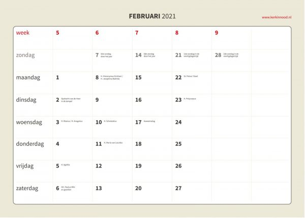 Kalender 2021-5