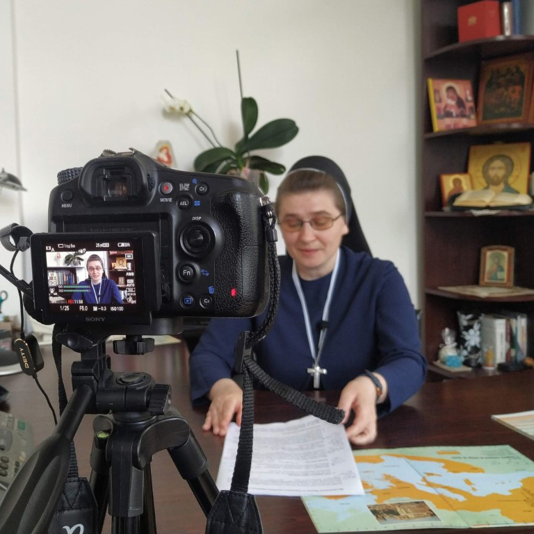 Creation of a program for distance learning of catechists