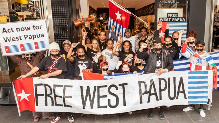 Protest West-Papoea - Wiki Commons