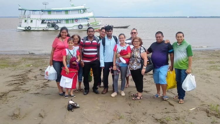 Purchase of a boat for the pastoral services at the Christ King parish in Itacoatiara