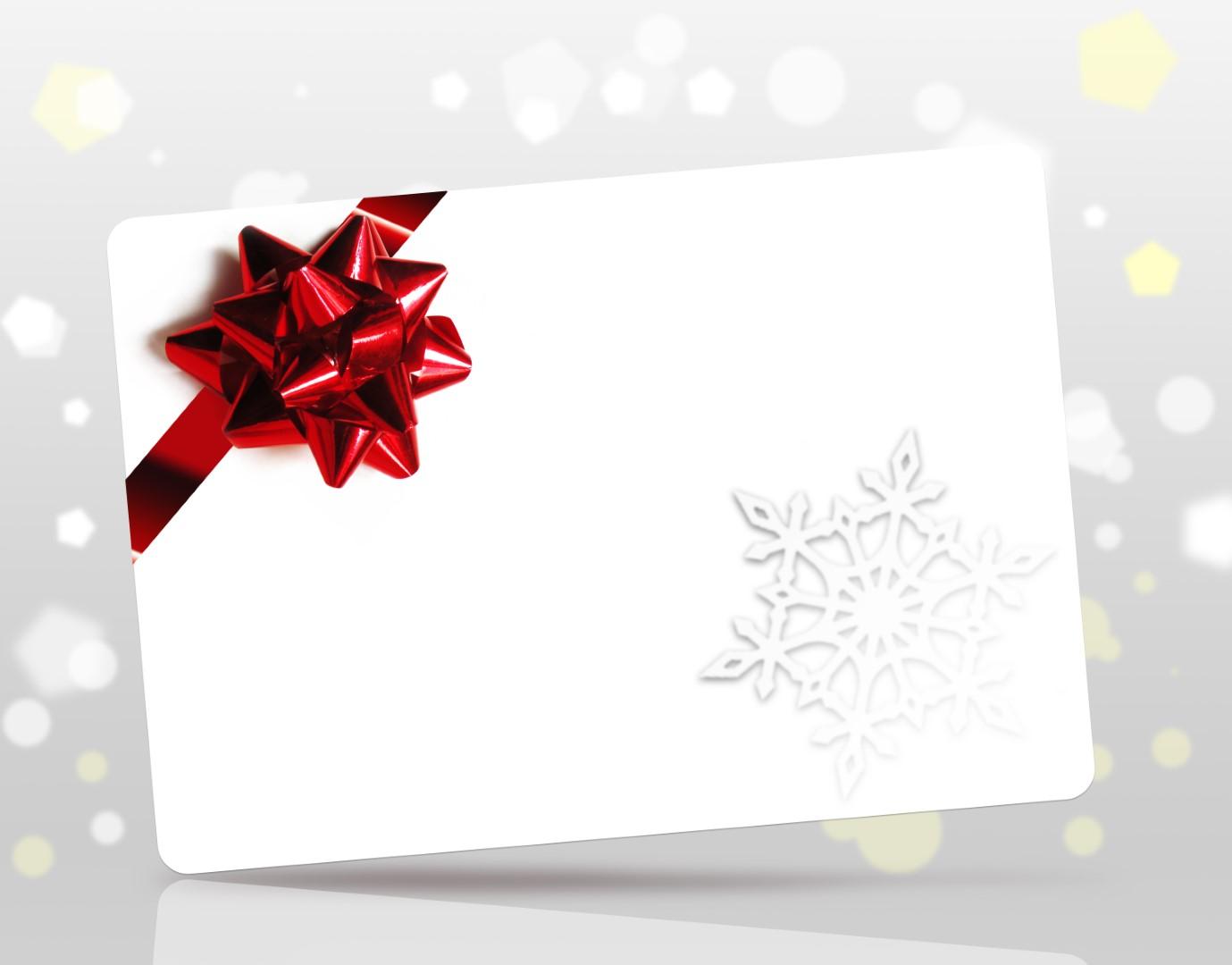 biglietto augurale natalizio