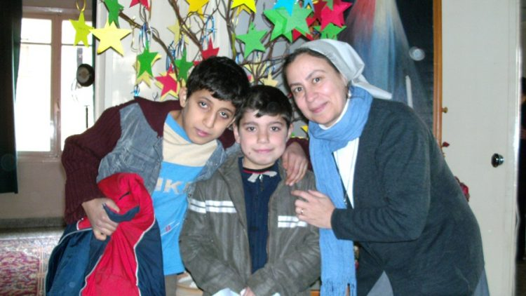 Christmas gift for the children and the people in Al Hassekeh and Aleppo