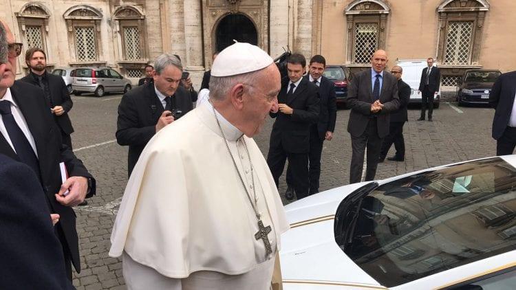 Pope Francis - Lamborghini