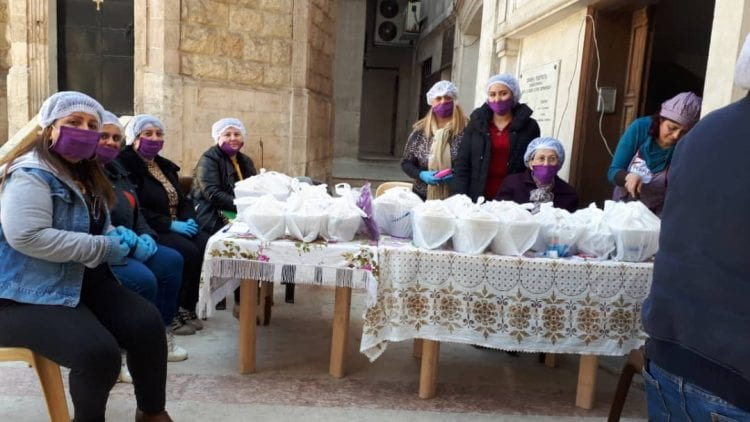 Hot meal project of the Armenian Orthodox Relief Cross - 2021
