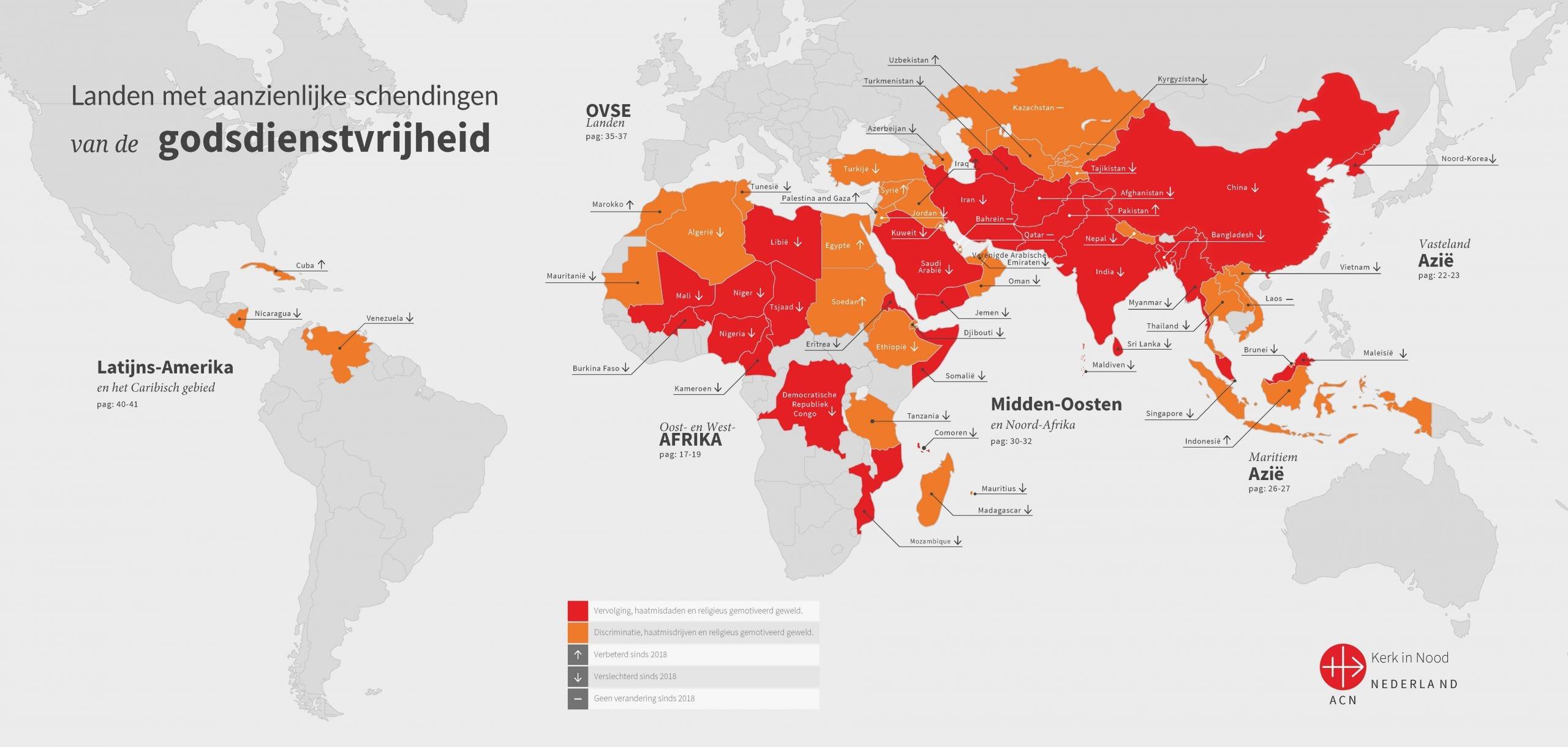 Kaart vervolging RFR2021 - NL