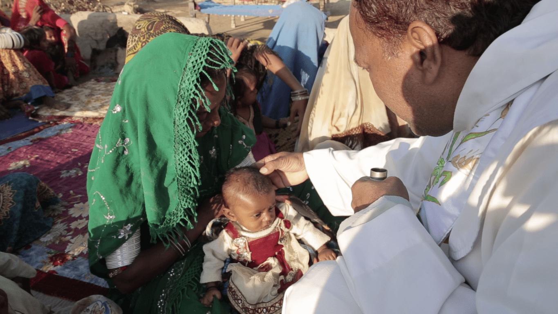 Zegen kind Pakistan