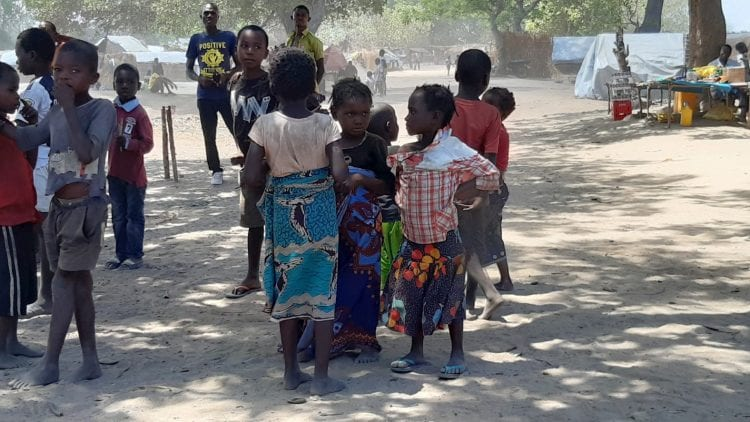 Situation in the refugee settlements in the diocese of Pemba - Mozambique December 2020