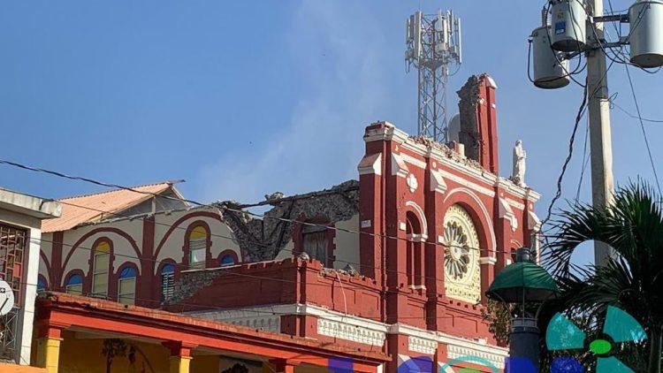 Zware aardbeving in Haïti op 14 augustus 2021