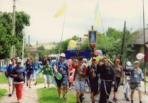 Oecumenische jongerenontmoeting in Bilshivtsi - Oekraïne