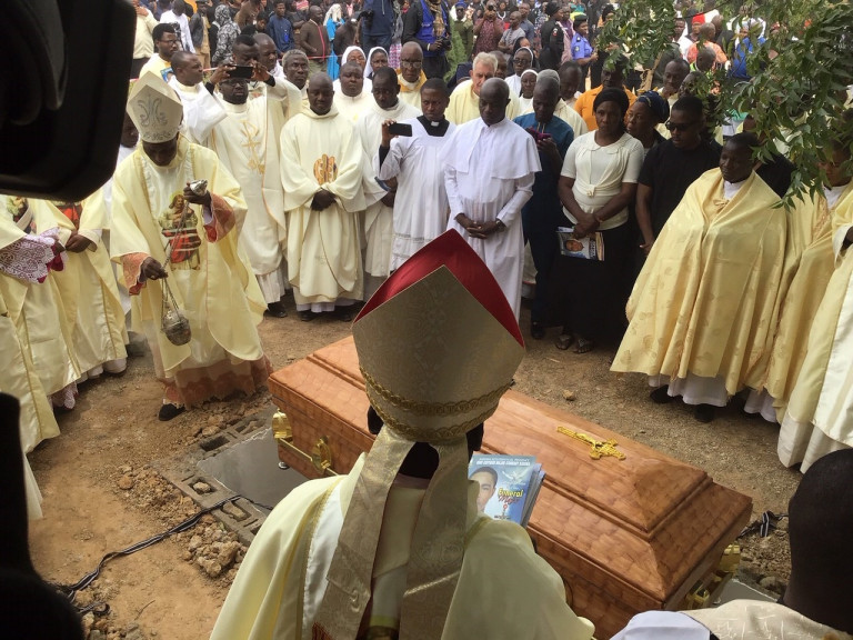 Funeral Mass of Seminarian Michael Nnadi  at Good Shepherd Seminary in Kaduna on 11th February 2020