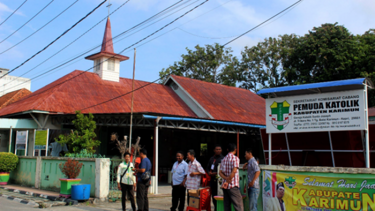 20200220 Indonesië St Jozefkerk Riau