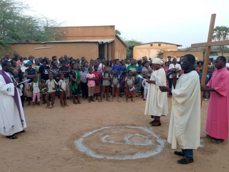 Photos of Dori diocese in Burkina Faso March 2020