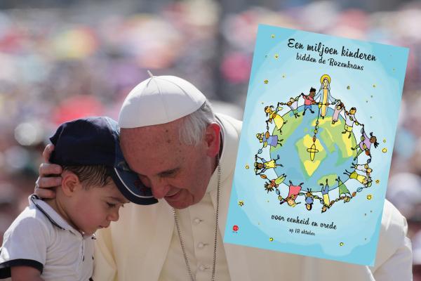 Paus-vraagt-miljoen-kinderen-om-gebed