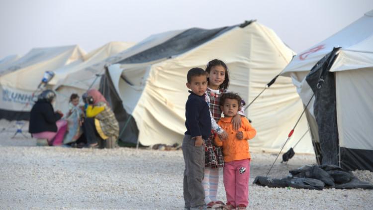 Syrischevluchtelingenkinderen