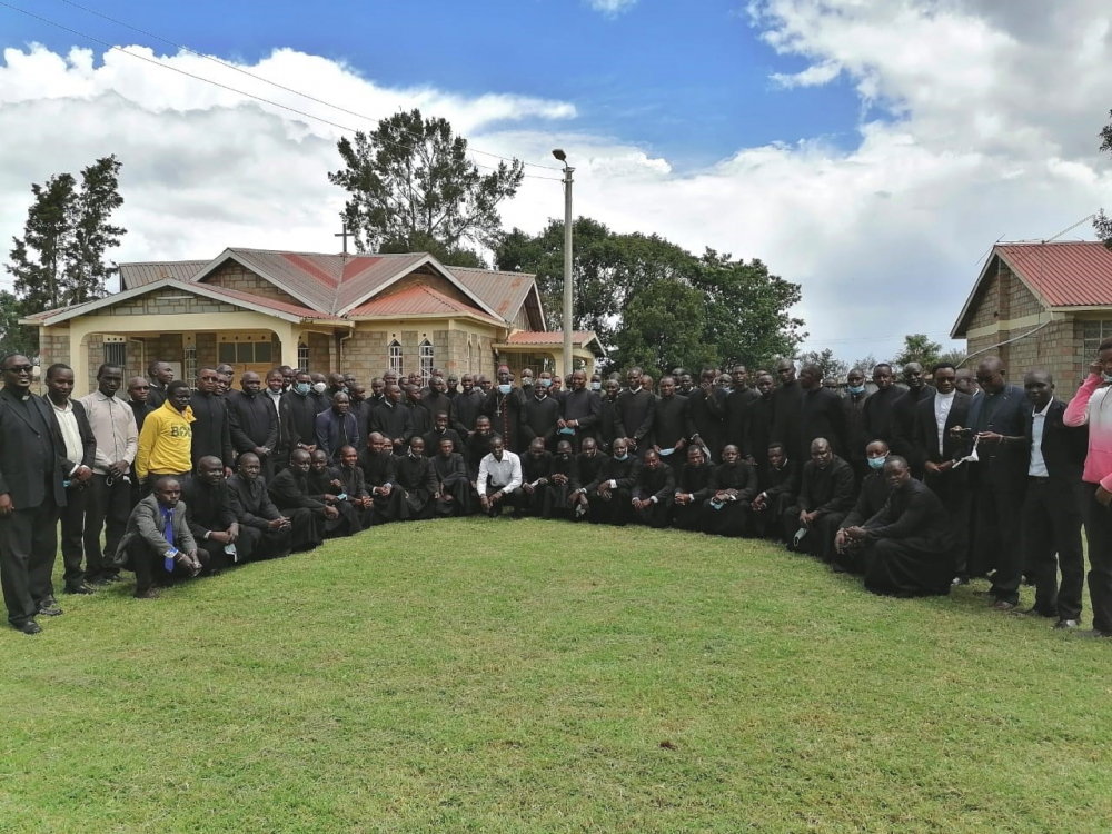 Formation of  80 major seminarians, Eldoret Diocese - 2019