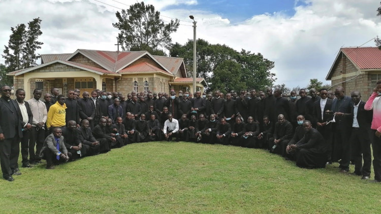 Formation of  80 major seminarians, Eldoret Diocese - 2019