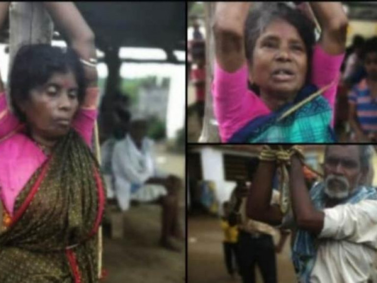 20210903 Indiase Dalits vastgebonden Foto Asianews