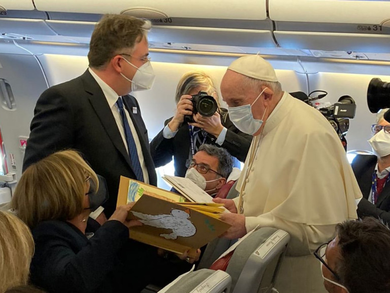 Pope's visit to Iraq 2021