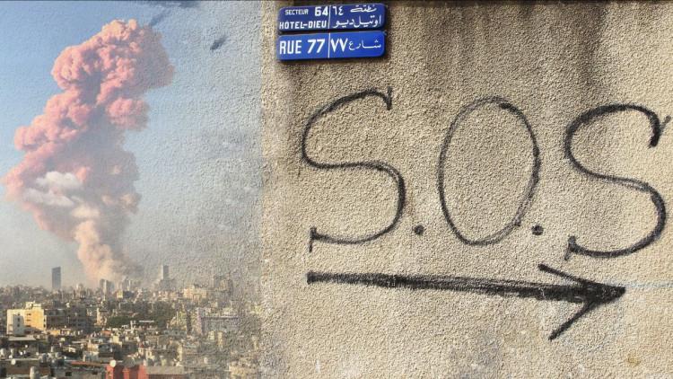 ACN20200805 Lebanon_Beirut explosion_SOS