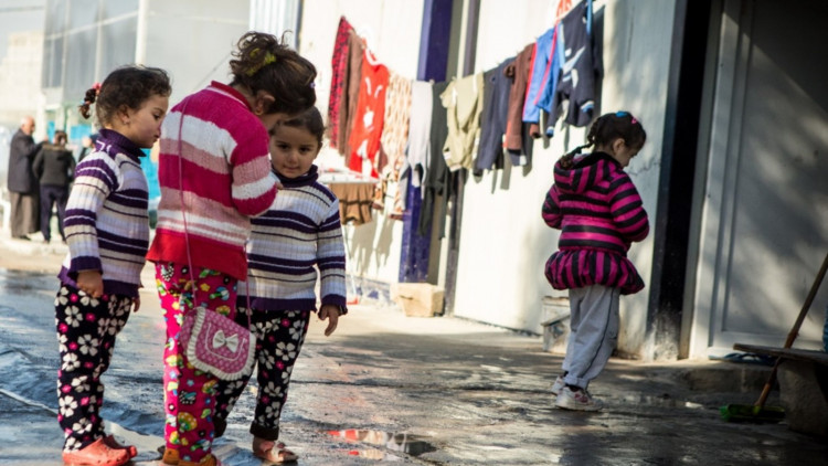 Gevluchte-kinderen-in-Erbil