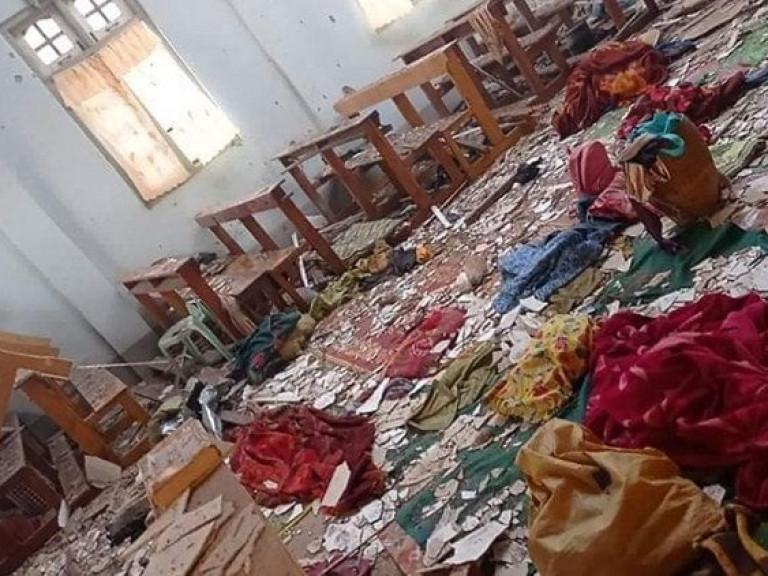 20210524 Myanmar aanval katholieke kerk - Vatican News