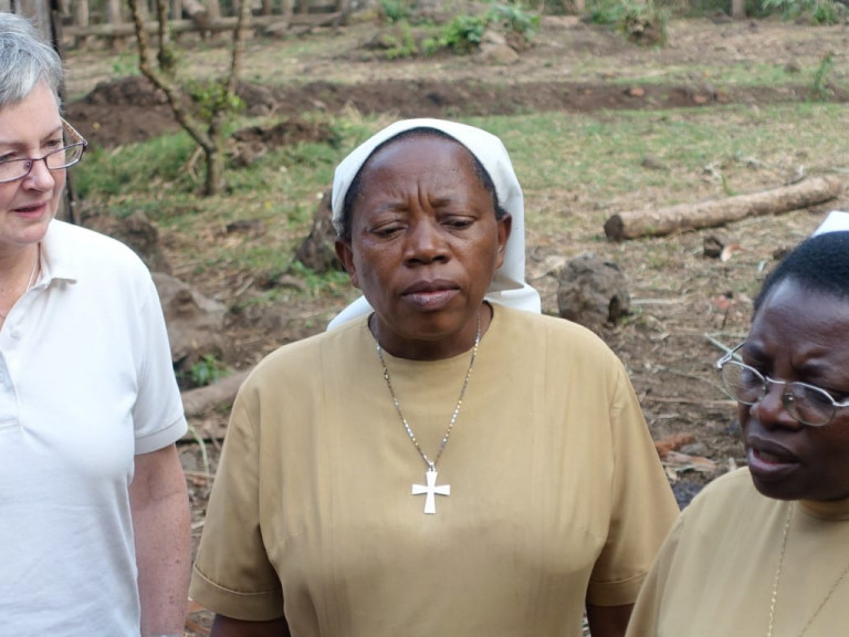 Project trip Dem. Rep. Congo of Fr. Martin Barta, Christine du Coudray and Regina Lynch August 2016