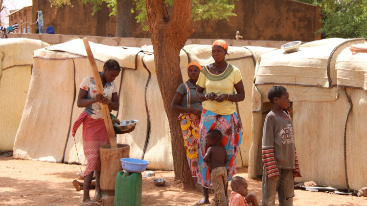 ACN-20200310-98303 Burkina Faso vluchtelingen