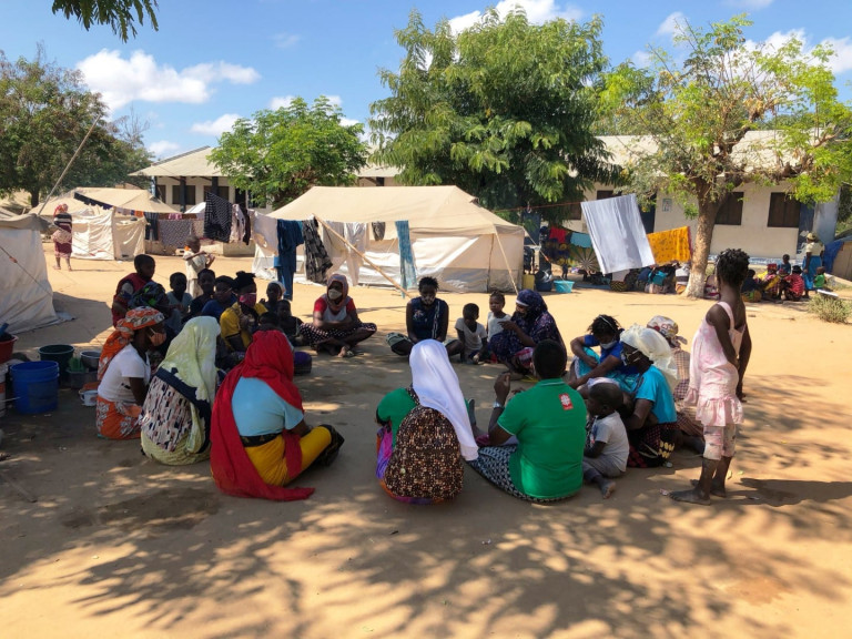 Pastoral and psycho-social support of the displaced families in Cabo Delgado