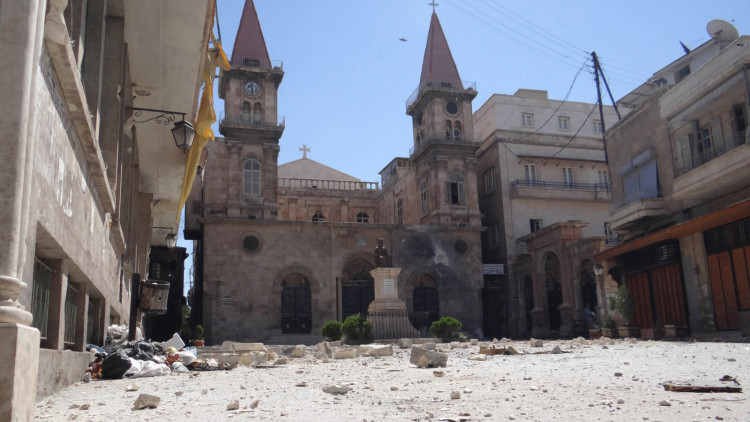 Restoration of the Maronite Cathedral of St. Elijah in Aleppo