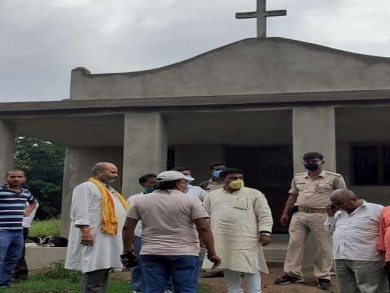 20200625 India aanval kerk Belgadia Jharkand