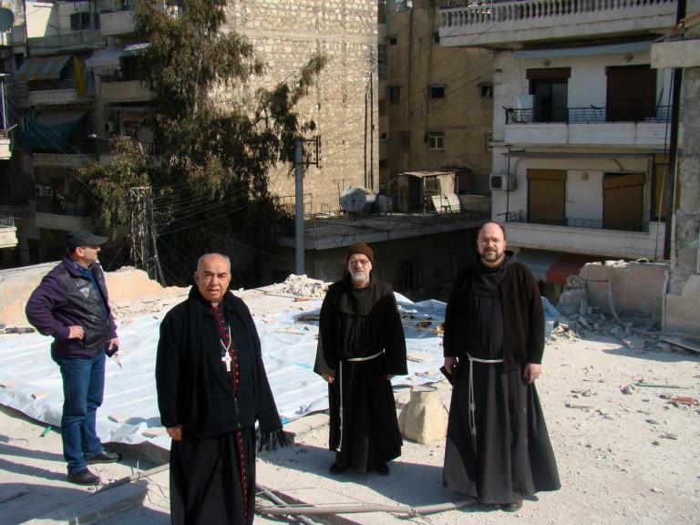 Syria-Aleppo-Franciscans